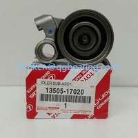 Toyota idler pulley 13505-17020 timing belt tensioner